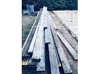 Wood planks 4x2 most 6 or 8 metres used as decking area previously. Must collect