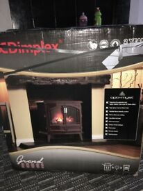 Dimplex Grand Rouge Opti-Myst electric free standing fire