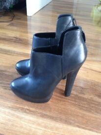 Size 3 Heeled Ankle Boots