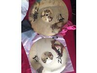 A Custom Zildjian case + ahead drum mat