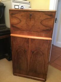 Vintage retro cocktail cabinet