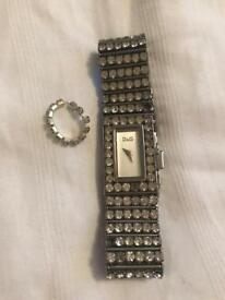 Dolce and Gabbana Ladies Dimante Watch