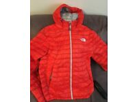 North face orange puffs jacket small mans ecellant condition bout for 200 looking fir 80