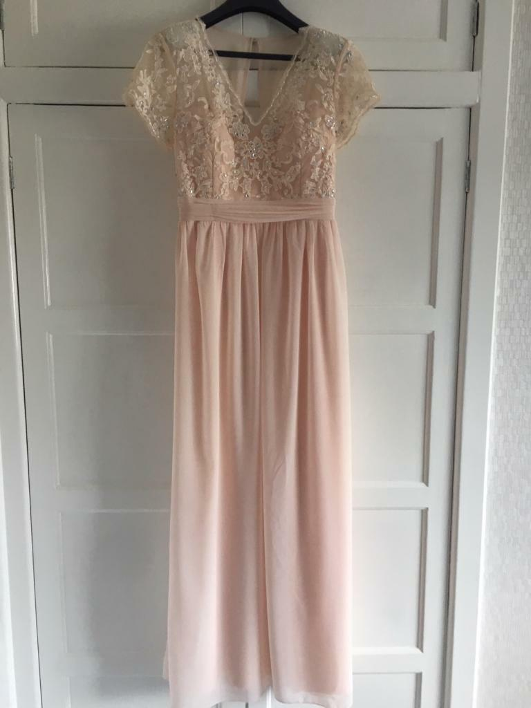 4efef5171a1 Quiz Size 18 Evening Gown Peach