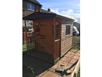 Kids play hut 6ftx6ft excellent condition. quick sale £75. Must be picked up