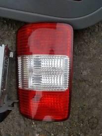 Vw caddy drivers rear light