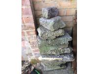 Bricks & large stones