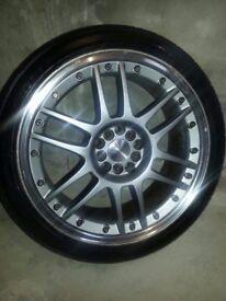 19inch OZ Racing Alloy Wheels Mercedes E-Class Set of 4