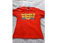 Ladies' Wonder Woman fitted T shirt - never worn