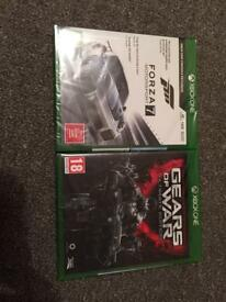 Forza 7 & Gears UE Xbox One & Black Controller