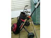 Golf clubs & memphis trolley