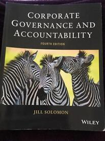 Corporate Governance and Accountability text book