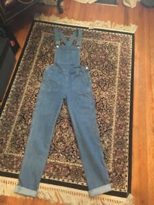 Ladies dungarees jeans size 4