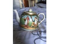 Victorian Salopian teapot Rae teapot 1911