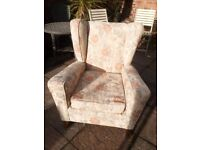 Parker Knoll wing back chair (free delivery)