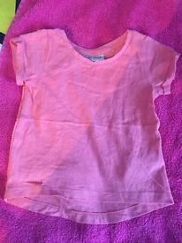 Baby girl pink tshirt