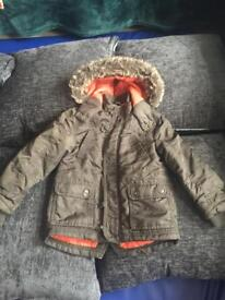 Boys Asda coat in good condition age 3-4