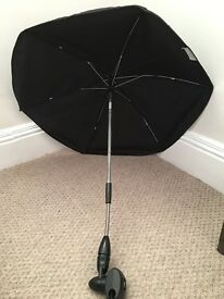 Pram umbrella / sun parasol for pushchair and strollers - immaculate condition