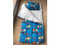 Children's Rug Rats sleeping bag and Pillow