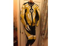 Motorcycle Leathers 2 piece suit