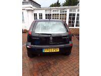 Vauxhall Corsa Elegance 16V 1.2CC Cheap runner Good Condition