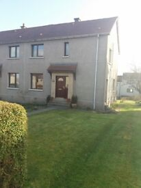 3 way swap. 3 bed semi detached house huntly for 2 bed house insch or inverurie