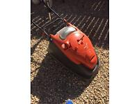 FLYMO VISION COMPACT 380 ELECTRIC HOVER LAWN MOWER