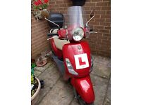 Sym fiddle 125 scooter spares or repairs
