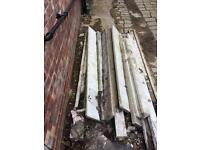 Fence posts and gravel boards
