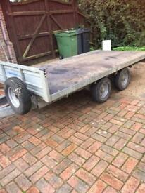 FLAT BED TRAILER 10.5ft X 5.5ft - GOOD CONDITION