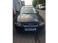 audi 3 needs new turbo and battery, few dents but otherwise good condition