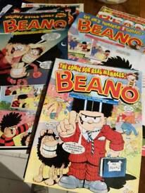 50 Vintage Beano comics