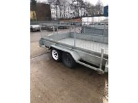 Caged trailer 10 x6 with ramp tailgate
