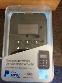 PayPal payment card machine