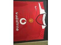 Manchester United Squad Signed Shirt