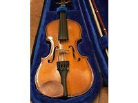 Violin for sale, 1/10 size. Stentor