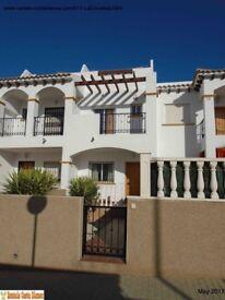 Costa Blanca, Spain. Townhouse, sleeps 4, A/C, English TV channels (SM011)