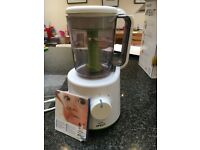 Philips Avent combined steamer and blender with or without food storage pots