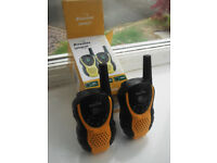 Binatone Latitude 100 Black/Yellow Twin Pack Walkie Talkies