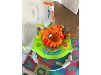 Jumperoo for baby like new -30£