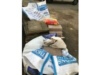 Free building materials for collection ASAP