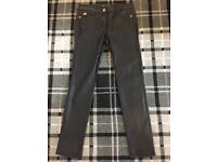 Ladies wax trousers/jeans