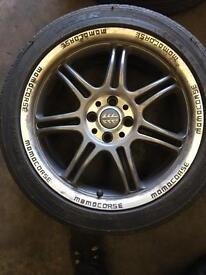 Renault megane GT sport 17inch wheels
