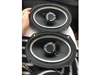 Sony expold car stereo and speakers