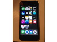 32gb genuinely fully working IPod touch 5th gen grey black