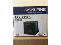 "Alpine SBG-844BR 400W 8 "" bass reflex speaker"