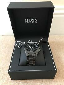Hugo boss mens watch in black.