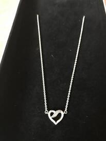 Pandora Ribbon Of Love Necklace