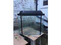 Corner shaped Fish Tank