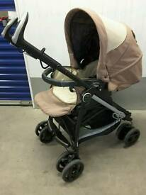 Mamas & papas peg peregrine pliko switch lite stroller